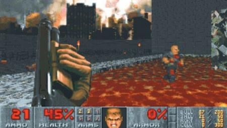 Původní Doom dostal nový kabát a je širokoúhlý nejen na PC, ale také na mobilech