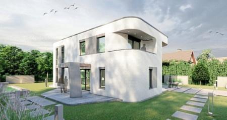 Němci začali tisknout domy 3D tiskárnou. Bude 3D tiskárna tisknout města i u nás?