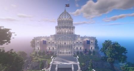 V Minecraftu si nyní můžete nacvičit americké prezidentské volby