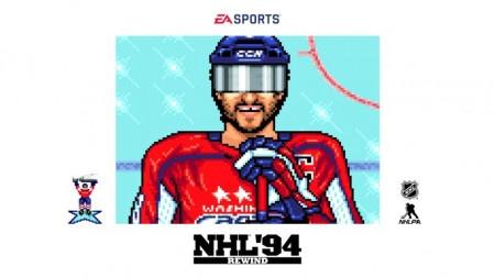 Electronic Arts připravili nostalgické retro NHL94 s aktuální soupiskou. Jak vypadá Ovečkin v 16bitech?