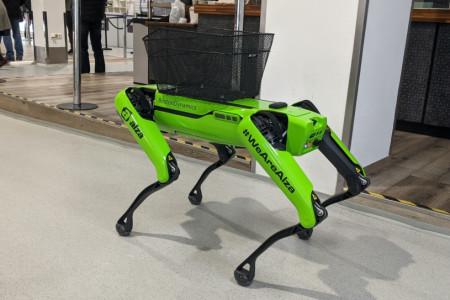 V Alze zapojili před Vánocemi i Spota od Boston Dynamics