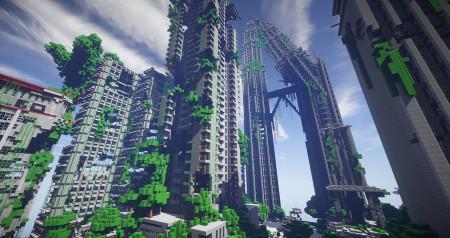 V Minecraftu vzniká kopie Cyberpunku s méně chybami než originál