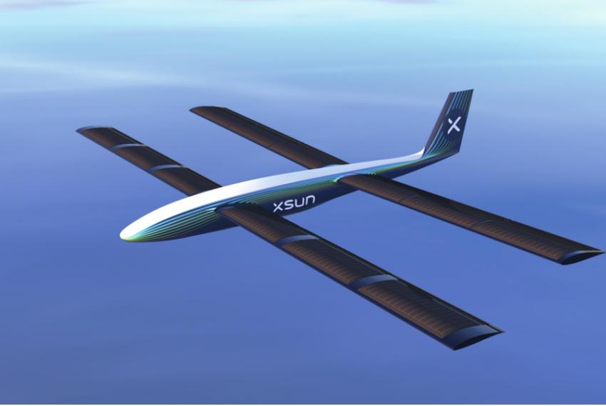 Autonomní dron na solární energii společnosti XSun vznikl díky akcelerátoru od Dassault Systèmes