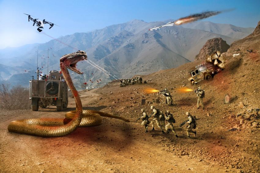 Třetí světová válka bude tou nejhorší? Umělá inteligence v Libyi vraždí vojáky.