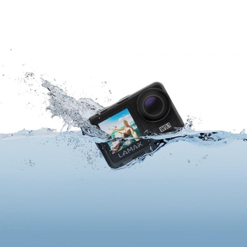 Akční kamerka zachytí každý okamžik